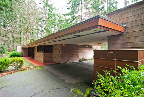 Brandes house by frank lloyd wright