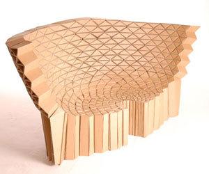 'Bravais' armchair and 'Radiolarian' sofa by Lazerian