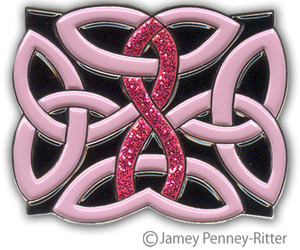Breast Cancer Celtic Knot