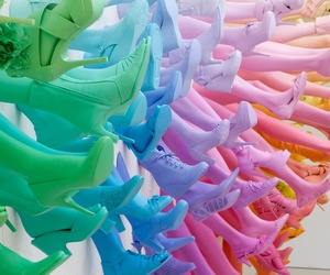 Breuninger Shoe Store Installation by John Breed