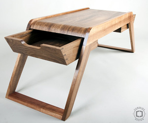 Bridge coffee table by David Cummins