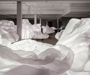 Bright Interactive Clouds Installation by Mason Studio