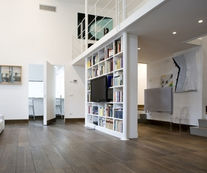 Bright Multi-Level Apartment in Rome