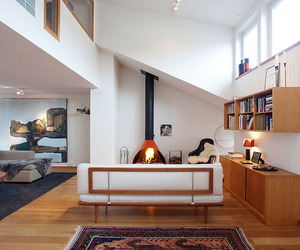 Bright Open-Plan Apartment in Stockholm