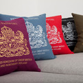 British Passport Cushion