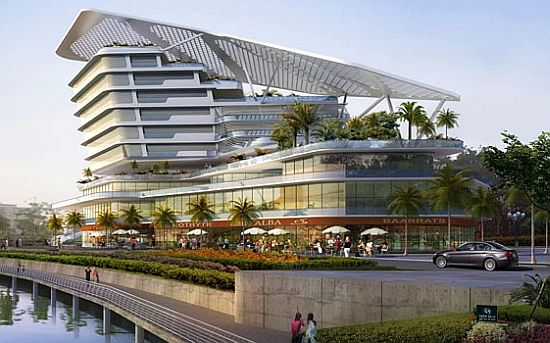 Broadway malyan designs putrajaya lakeside in malaysia for Broadway malyan