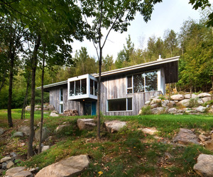 Bromont Residence by BTAE
