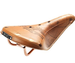 Brooks Leather Bicycle Saddle