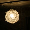 Bubble Chandelier by Shaun Kasperbauer