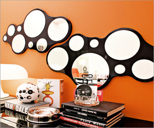 Bubbles Wall Mirror Beautiful by dz studios