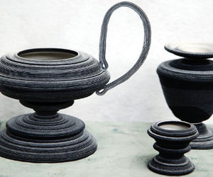 Bucchero Vessels from Siba Sahabi