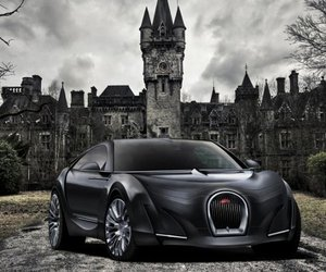 Bugatti 16C Galibier Super Sedan Concept