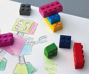 Building Block Crayons