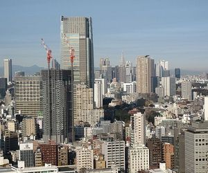 Buildings Stand Tall Despite 8.9 Earthquake In Tokyo