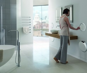 Built-in Bathroom Waste Bin By Vola