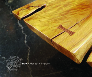 Buka Design, a culture of wood