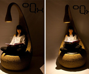 """Bulb"" Chair by by Gaëtan Van de Wyer"