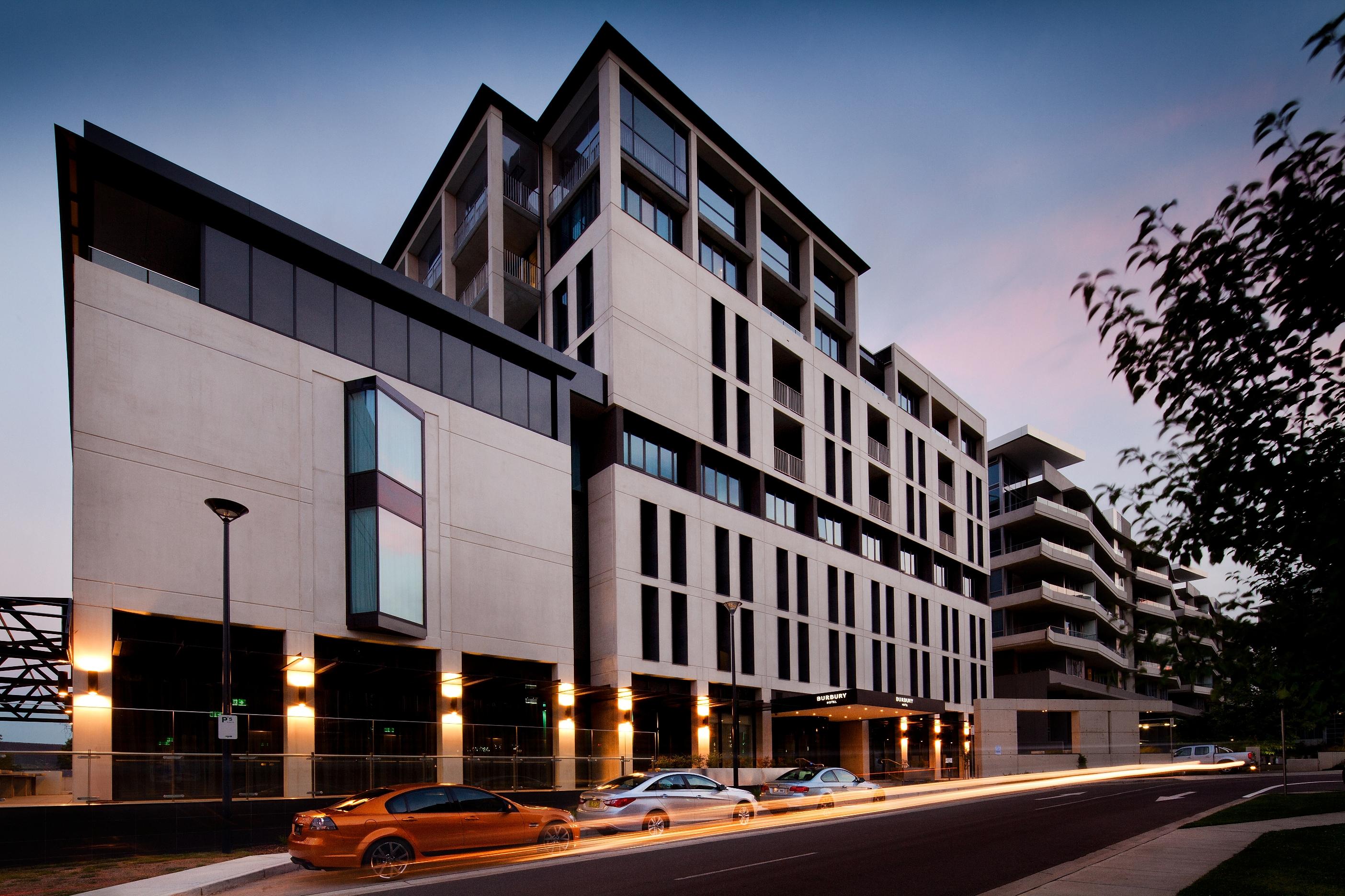 Burbury Hotel Barton Canberra Colin Stewart Architects