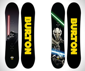 Burton x Star Wars 2014 Snowboard Collection