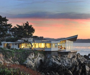 Butterfly House on the Rocky Shores of Carmel, California