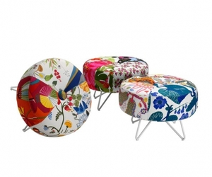 'Button' seat now with Swedish fabrics