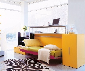 Cabrio In: a Desk and a Bed in one