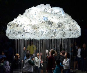 Caitlind Brown | CLOUD Incandescent Installation