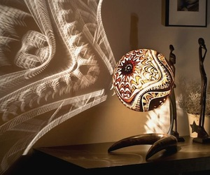 Calabarte Carved Lamp Designs