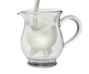 Calf And Half Creamer Pitcher