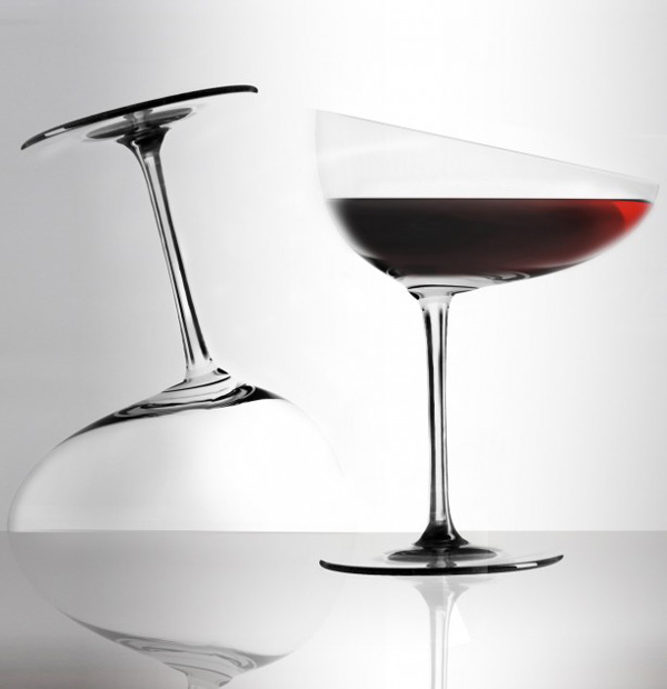 Calici Caratteriali Unique Wine Glasses By Gumdesign