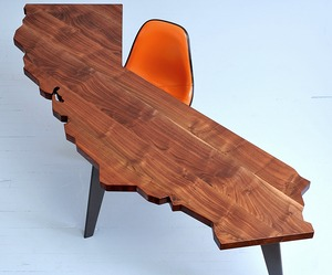 California Tables by J. Rusten