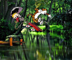 Calvin and Hobbes Invade The Real World