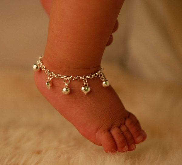 Anklets Designs For Girls Cambodian Jingl...