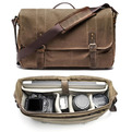 Camera and Laptop Messenger Bag