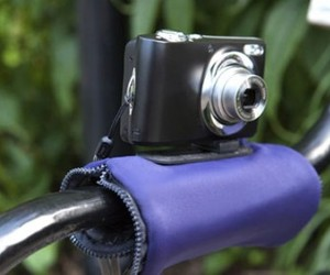 Camera Zip Pouch with Mount gives perfect angle shots