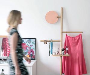 Camerino Valet Stand by Brose~Fogale design studio