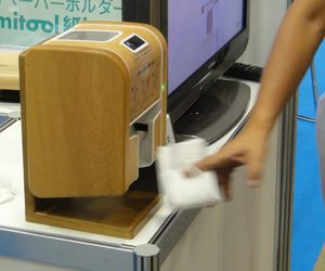 Camitool hands-free electric toilet paper