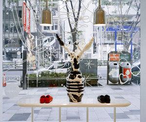 Camper Fashion Shop Interior by Hayon Studio