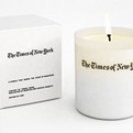 Candle that Smells Like the New York Times by Tobias Wong
