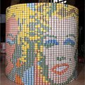 Canned Food Sculptures Raise Hunger Awareness