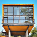 Cantilevered House in Seattle