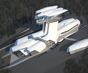 Capital Hill Residence in Moscow by Zaha Hadid Architects