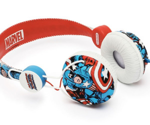 Captain America themed Headphones
