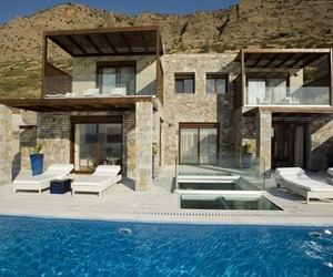 Captivating Elounda Villa Complex on the Island of Crete