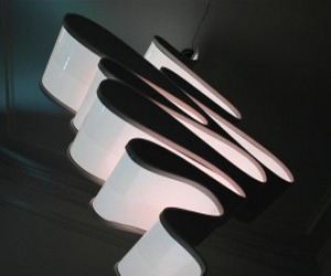 Carbon 451 Lamp by Marcus Tremonto