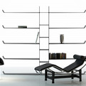 Carbon Fiber Bookshelf by David Anzalone
