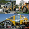 Carchitecture! A Car-Shaped House and Restaurant