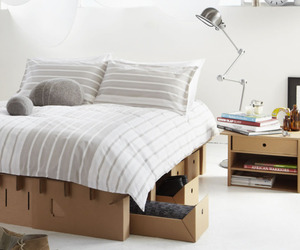 Cardboard Bedroom