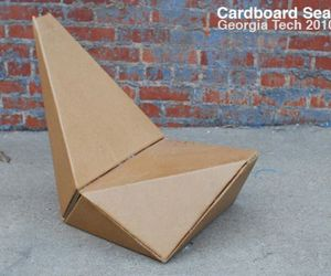Cardboard Chair by Gourab Kar