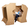Cardboard Office by Coudamy Design